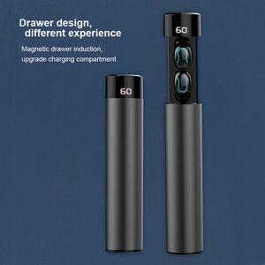 Image 5 - TWS Bluetooth écouteur sans fil casque 6D stéréo sans fil écouteurs Mini écouteurs avec micro 2600mAh chargeur Bin batterie externe