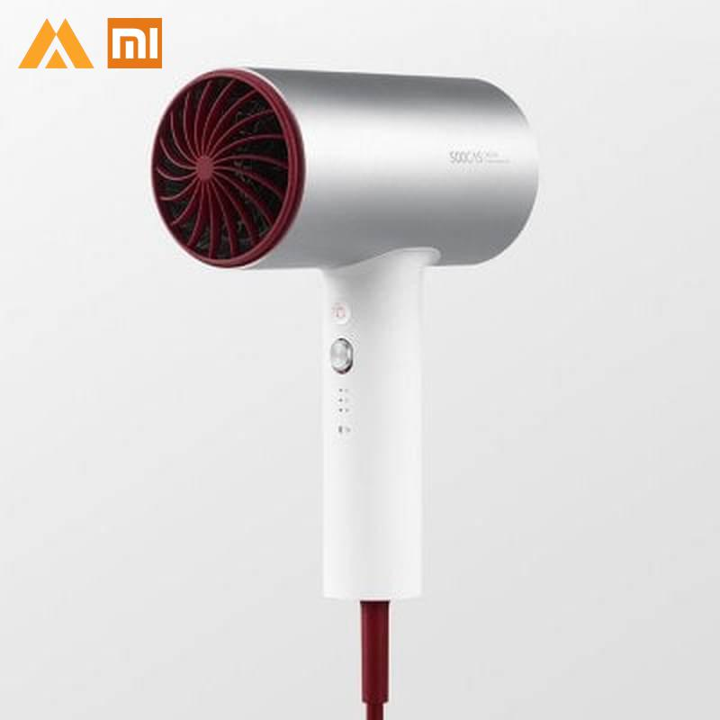 Original Xiaomi Mijia Soocas H3 Anion Hair Dryer Aluminum Alloy Body 1800W Air Outlet Anti Hot
