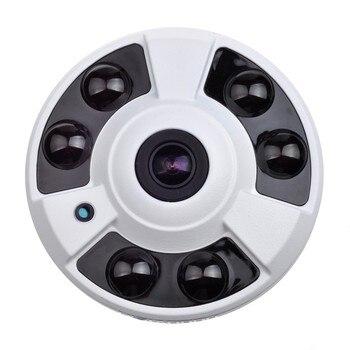 цена на 2MP POE Camera 180 Degree 360 Degree Fisheye Lens IR Distance 40M Vandalproof ONVIF P2P Dome CCTV Security Indoor IP Camera