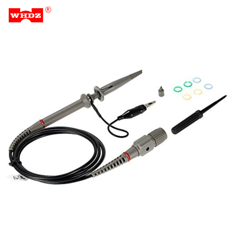 WHDZ 1PCS PP-90 80MHz Original Hantek Oscilloscope Probe ( PP80 PP150 PP200 ) Accessories Parts for Kit Test Probe for Measuring new 1pcs dso138 2 4 tft digital oscilloscope kit diy parts 1msps with probe