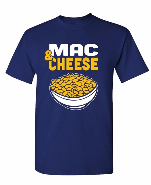 men 2017 summer summer tees shirt tops tees plus size t-shirt MAC AND CHEESE food comfort foodie retro Casual Men Tees