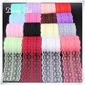 DongCai Lace Trim Ribbon 10 yardas/lote 45mm ropa de tejido de punto de bordado neto encaje Cordón de tela patchwork Accesorios