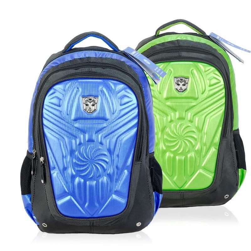 Environmental EVA Transformers bags boys backpacks children school 2016 new blue yellow mochilas T0035 - A2Z FASHION store