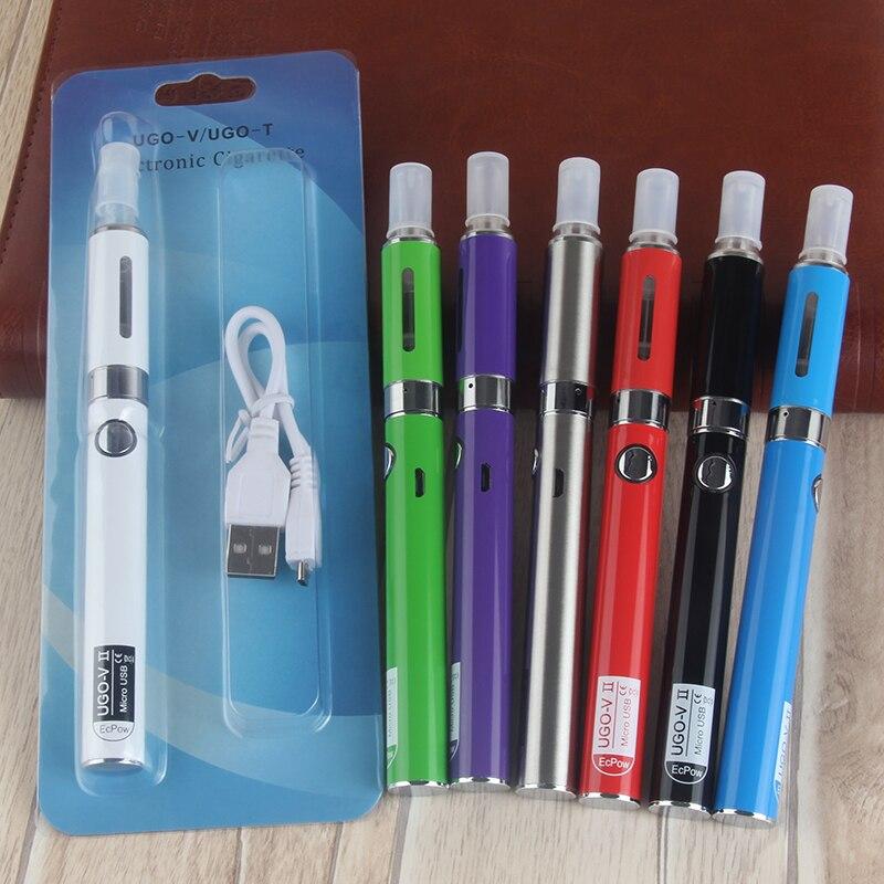 EVOD MT3 Blister Kit Single Kits EGo Starter Kits E Cigs Cigarettes 650mah 900mah UGO V2 Battery MT3 Atomizer