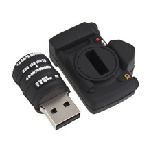 Creative Portable Cute Camera Bentuk 8GB USB Flash Disk Drive Penyimpanan Memori Alat