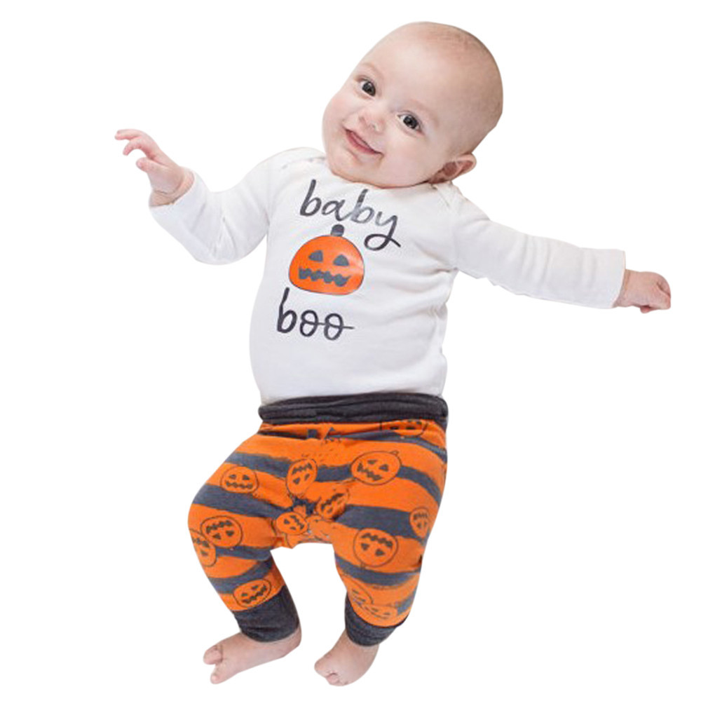 9bdeae9ca84b2 Thanksgiving outfits set / Halloween baby clothes / baby boo pumpkin / 3  pcs set /bodysuit +hat +leggings