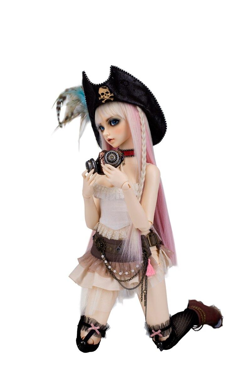 จัดส่งฟรี lingxiyiwa 1/3 bjd ตุ๊กตา celine-ใน ตุ๊กตา จาก ของเล่นและงานอดิเรก บน   2