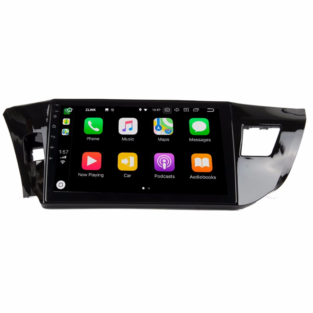 """10"""" Android 8.0 Quad Core Gps Navigation For Toyota Levin 2014-2016 Car Multimedia Player"""