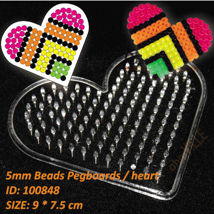 Detail Feedback Questions about 100848 Heart Pegboards For