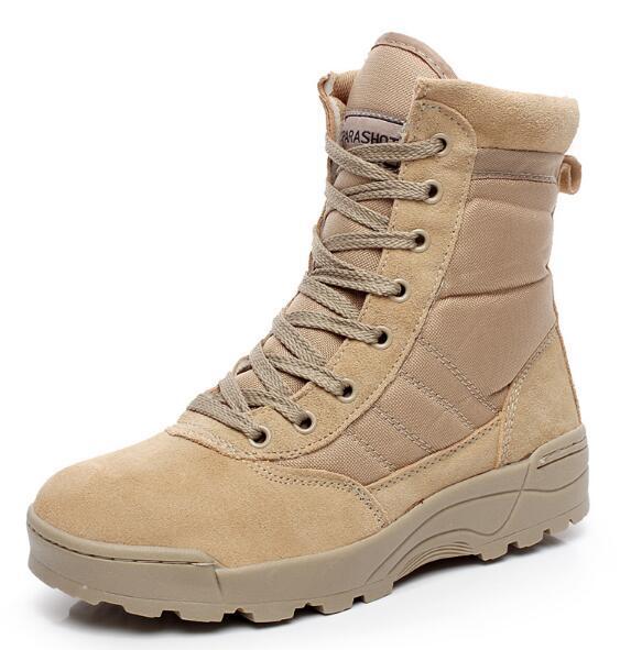 Мужская Оригинал Военная Армия США Пустынный Песок Камуфляж Тактические Боевые Сапоги Ботинки Походы Загрузки Botas Homme Sapatos Masculino