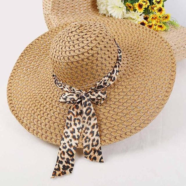 BTLIGE New Women Beach Hat Lady Derby Cap Wide Brim Floppy Fold Summer Bohemia Sun Straw Hat Dropshipping
