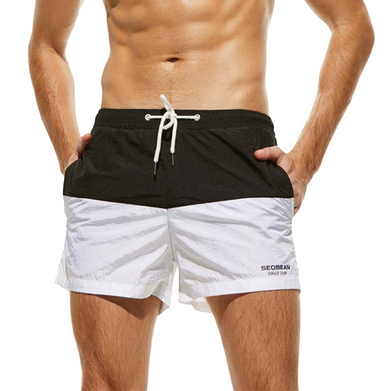 Board     Shorts   Men Summer Lined Beach   Shorts   Brand Swimwear Swimming Trunks Male Pocket Surfing   Shorts   Surf Mens Boardshorts