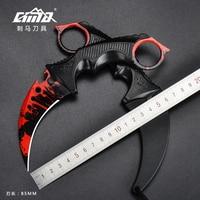 CIMA CSGO Doppler Karambit Hawkbill Full Tang Neck Messer ABS Mantel-(Limited Edition)