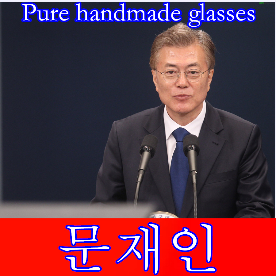 2017 Retro font b glasses b font font b frame b font men Pure Hand made