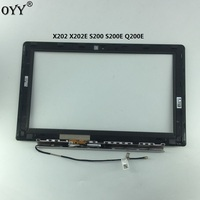 5333P Version Touch Screen Digitizer With Frame Border B Shell And Small Board For ASUS X202