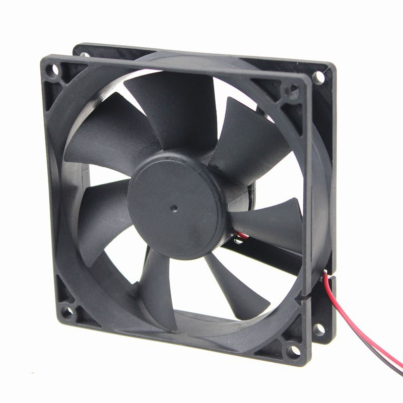 3d printer fan 9225 2pins 92mm 92x92x25 mm graphics card fan air ventialtion mfan motor DC 5V 12V 24V 9225 2P 1pcs полки столлайн орион стл 225 22