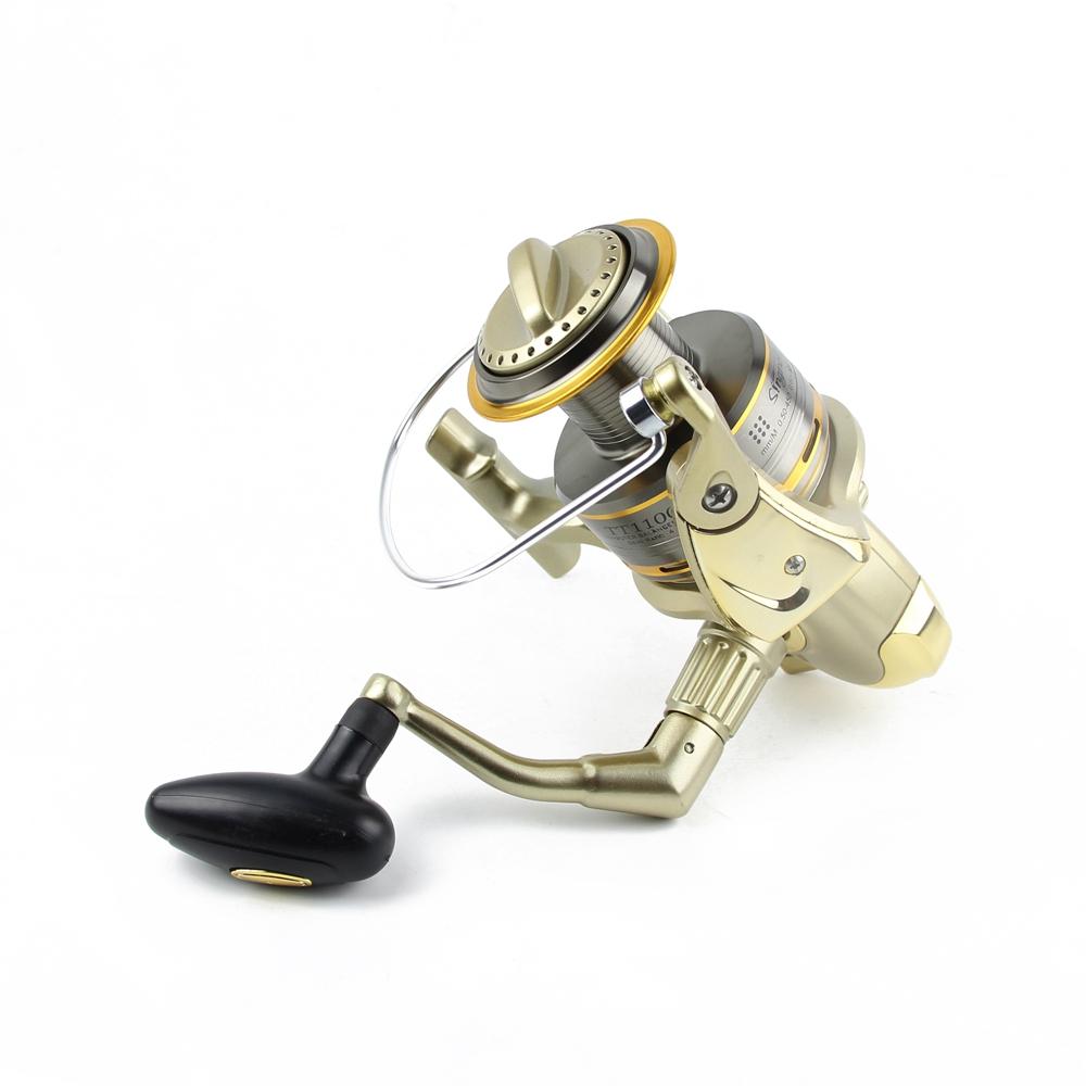 Cheap 8000 9000 10000 11000 Spinning Reel Fishing 11BB Max Drag 12KG Saltwater Sea Big Spinning Fishing Reel Moulinet Wheel  (7)