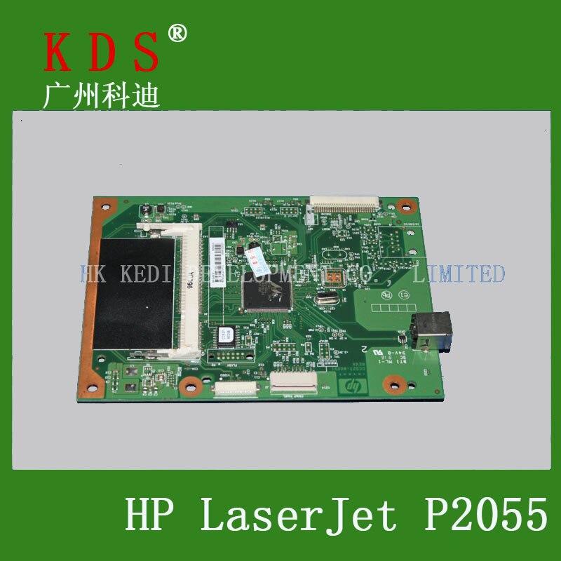 5 pcs/lot printer spare parts main board for HP 2055D laserjet parts logic board