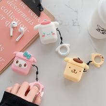 For Airpods Cartoon wireless earphones Case Apple AirPods Silicone Charging Headphones Cases 2 Protective Cover
