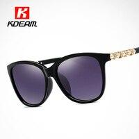 Luxury Women Sunglasses Polarized Diamond Pearl Squared Sun Glasses Polaroid Fashion Coating Sunglass zonnebril With Brand Box
