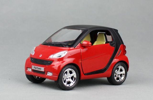 1 32 1 st 11 cm simulatie smart mini auto legering model. Black Bedroom Furniture Sets. Home Design Ideas