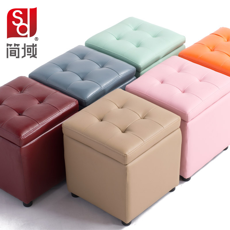 Jane domain leather foot stool storage stool changing his shoes soft wood shoe bed end stool ...  sc 1 st  AliExpress.com : foot stool with storage - islam-shia.org