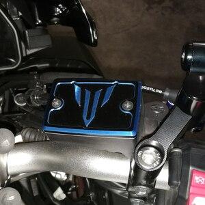 Image 5 - CNC Motorcycle Master Cylinder Front Brake Fluid Reservoir Cover Cap For Yamaha MT07 MT 07 MT 07 09 10 MT09 MT 10 2014 2020 2017