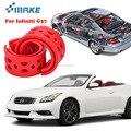 SmRKE для Infiniti G37  высокое качество  передний/задний автомобильный амортизатор  пружинный бампер  силовая Подушка  буфер