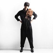 Новая мужская одежда GD стилист волос Модный повседневный обтягивающий костюм оснастка цельный комбинезон больших размеров костюмы 27-44
