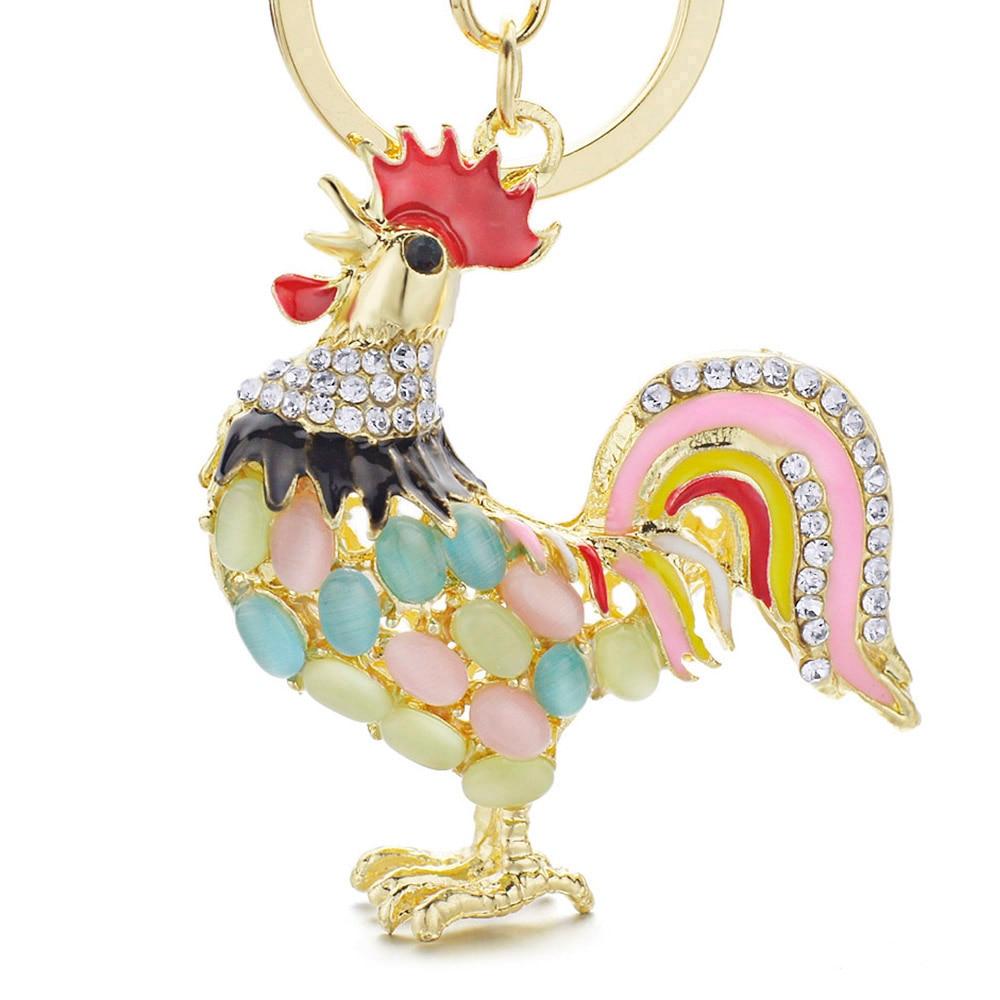 Dalaful drăguț Opals Cocos Cocos Cocos Breloc Breloc Crystal Bag - Bijuterii de moda - Fotografie 3
