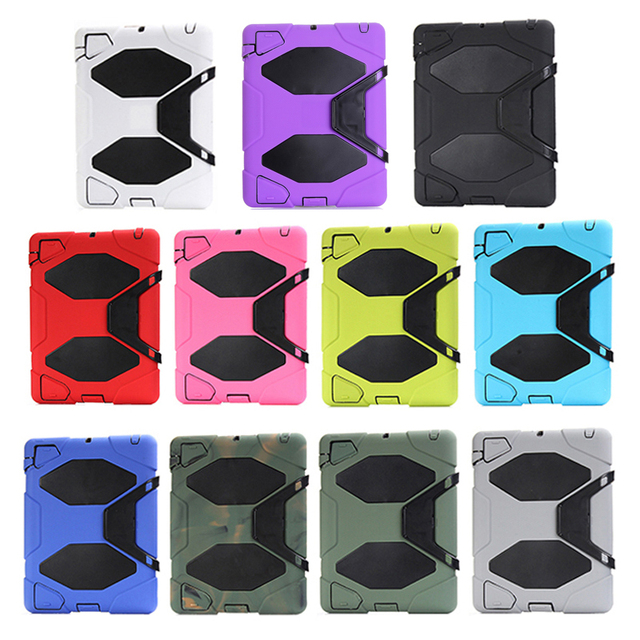 """Tablet Case For Apple iPad 2 3 Extreme Military Heavy Duty Waterproof Dust/Shock Proof child Stand Cover Case for ipad 3 4 9.7"""""""