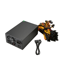 2000W Over 90% Efficiency ATX12V V2.31 ETH Coin Mining Miner Power Supply Active PFC Power Supply for 8 graphics cards bitcoin