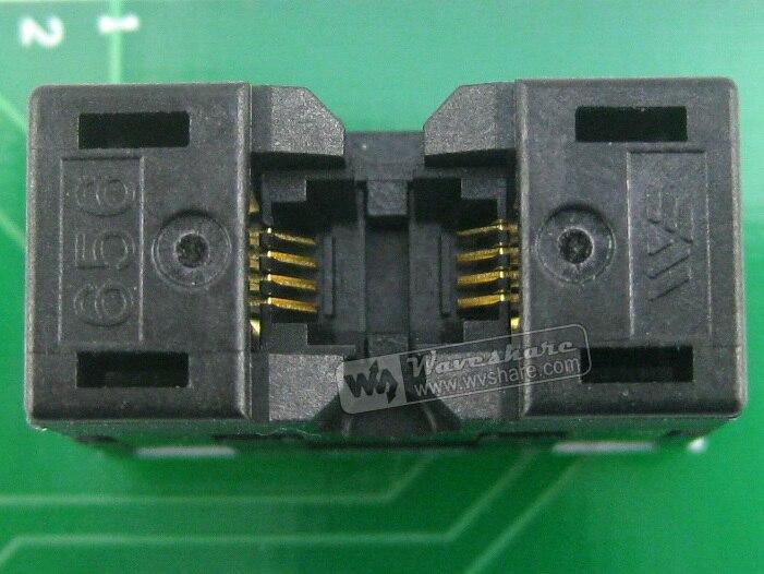 Waveshare SSOP8 à DIP8 (A) TSSOP8 MSOP Wells prise de Test IC 656-1082211 adaptateur de programmation pas de 0.65mm - 3
