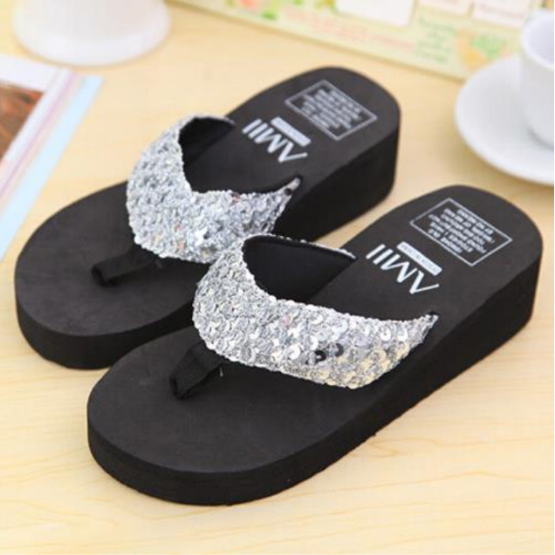 Multicolor Summer Shoes Women Platform Sandals Wedge Flip Flops Sapato Feminino High Heel Slippers Sandalias Plataforma Chanclas