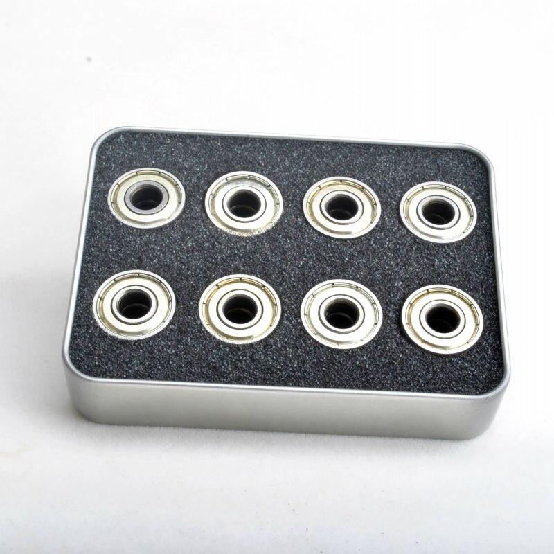 free shipping roller skate bearing ABEC-7 608z 22x8x7 mm 16 pieces of bearings / lot