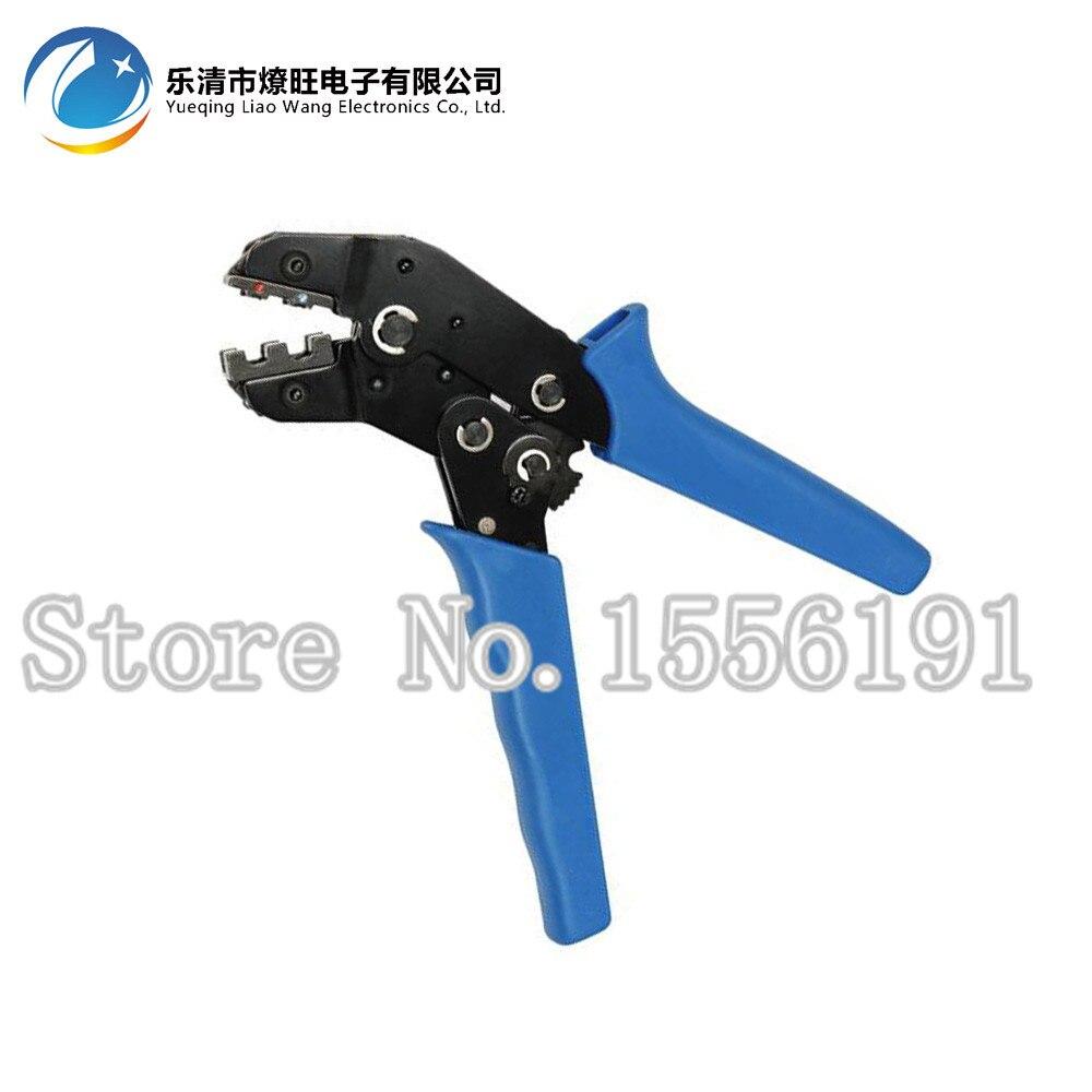 Alicate de friso SN-0725, Para fio virolas, ponteiras, Tubular 20-14AWG ferramenta de Friso alicate 0.5-2.5mm2