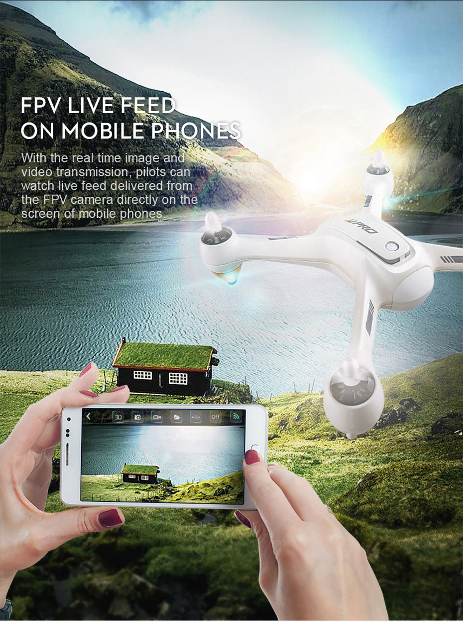 JJRC JJPRO X3 GPS Drone with Camera 1080P RC Quadcopter Profissional Brushless Motor 00mAh Battery GPS Positioning 10