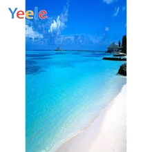 Yeele Tropical View Seaside Vacation Wedding Portrait Photography Backdrops Summer Photographic Backgrounds For Photo Studio цена и фото