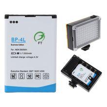 2500mah BP-4L Замена литий-ионная батарея для 96/112 Светодиодный свет камеры