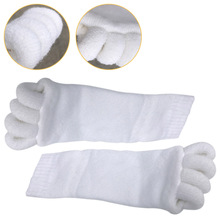 Fitness Massage Separator Five Toe Socks Sleeping Fingers Healthy Feet Care Soft Pain Relief