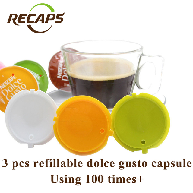 Refillable Dolce Gusto coffee Capsule cool kitchen stuff