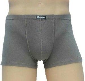 Image 4 - 5 ピース/ロット大緩い男性綿下着ボクサーショーツハイウエストパンティー通気性脂肪ベルトビッグヤード男性のプラスサイズ