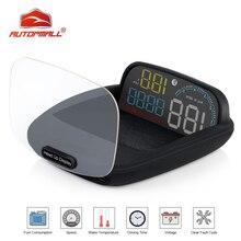 Ordinateur embarqué pour voiture HUD à affichage Digital, compteur de vitesse, OBD2, projecteur de conduite, consommation de carburant, nouveauté