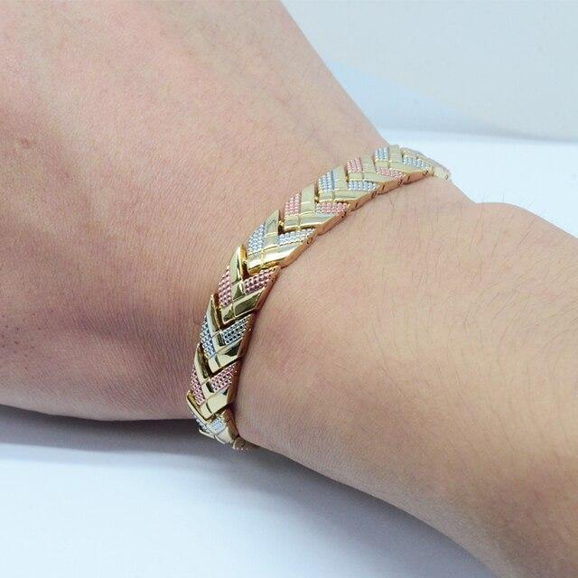 Купить женский магнитный браслет vivari трендовый 3 тонов цвета стрела картинки