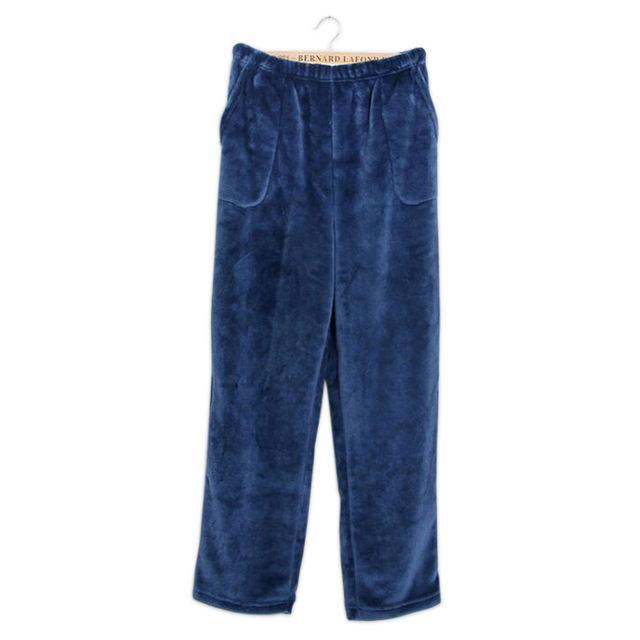 Hot sale Winter Flannel mens sleep bottoms thicken warm sheer mens pajamas pants comfort Slacks stars sleep pijama pants men