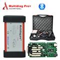 Mejor Calidad 2014.3 software Multidiag pro tcs cdp pro plus Solo Placa PCB verde con Bluetooth añadir full set 8 cables del coche