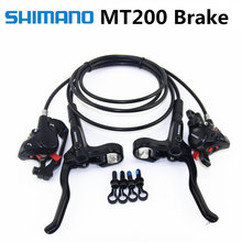 New Shimano Mt200 M315 M365 M355 Brake Mountain Bike Br-m365 Hidraulic Disc Brake Mtb Left & Right 800/1400mm M355 Brakes New