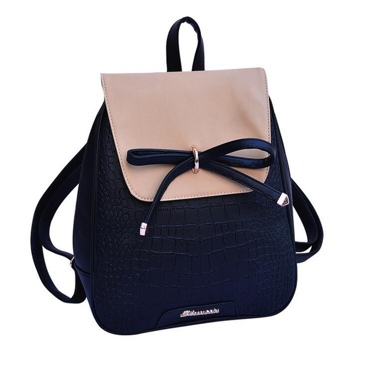 Bag Again 021917 New Hot Lady Fashion Backpack Female Travel Bag