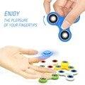 Tri-Spinner Fidget Juguete De Plástico Mano spinner Spinner Para El Autismo y EL TDAH nueva fidget para Reducir El Estrés