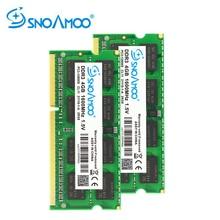 SNOAMOO RAMs DDR3 4GB 1333/1600 MHz Notebook Memory PC3-10600S 204-Pin 1.5V 2Rx8 SO-DIMM Computer Memory Warranty x3250m4 x3250m5 x3100m5 4g 4gb 2rx8 pc3 12800e tested good